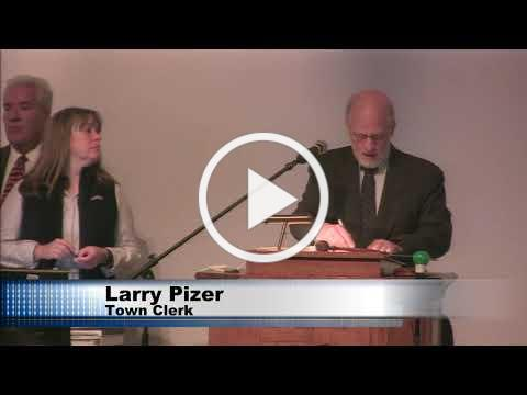 #Plymouth Town Meeting October 2018: DAY 1