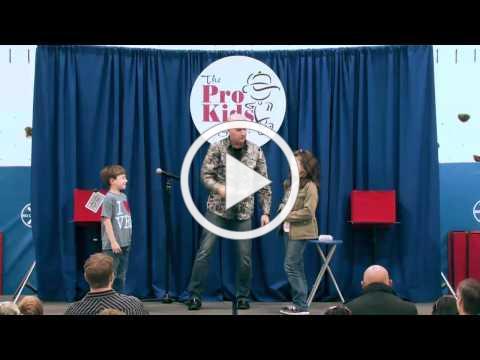 Tim Hannig & The Pro-Kids Show Montage (60 seconds)