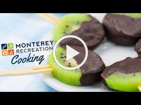 Monterey Recreation Presents: That's Good! 🥝🍫 Chocolate Dipped Kiwi Coins Demo
