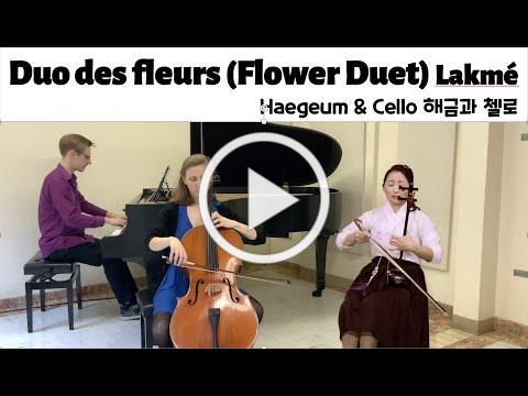 Duo des fleurs (The Flower Duet) Lakmé -Haegeum & Cello, 해금과 첼로, 케이피들, 해금클래식, 탄소전자해금