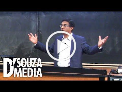 WATCH: Student asks D'Souza to convince him life starts at conception