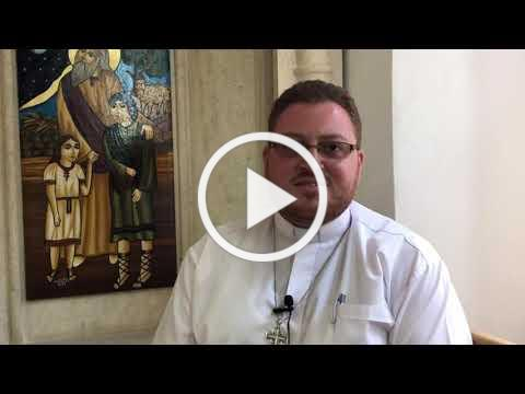 Conversations at Holy Land Institute for the Deaf - Fr. Wadie N. Far