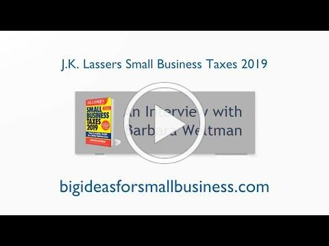 An Interview with Barbara Weltman Small Business Taxes 2019 final 1