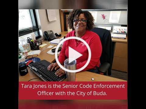 Black History Month: Tara Jones, City of Buda Senior Code Enforcement Officer