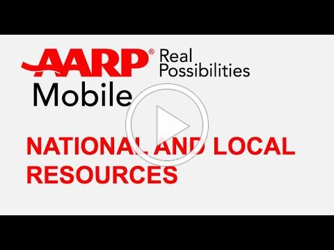 AARP Local and National Resources