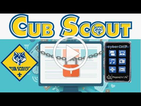 Demonstrating Principles of Cub Scout Cyber Chip: Pack 168