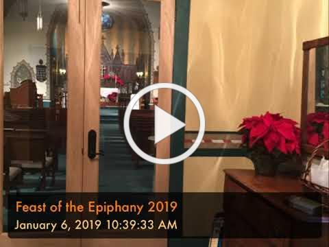Feast of the Epiphany 2019