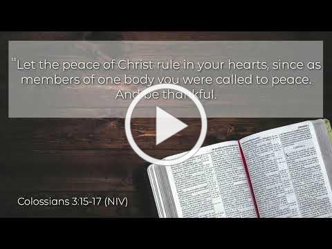 Thank God! (1 Peter 1:3-9)