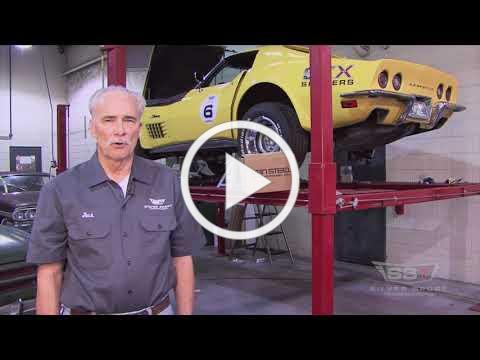 Vansteel Corvette Parts Overview