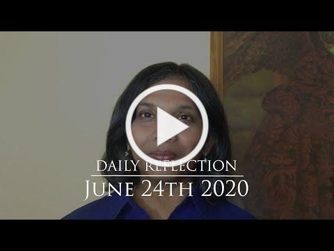2020 06 24 Reflection 586 587