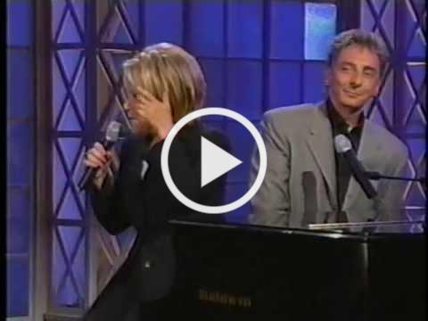 Bette Midler and Barry Manilow - Friends