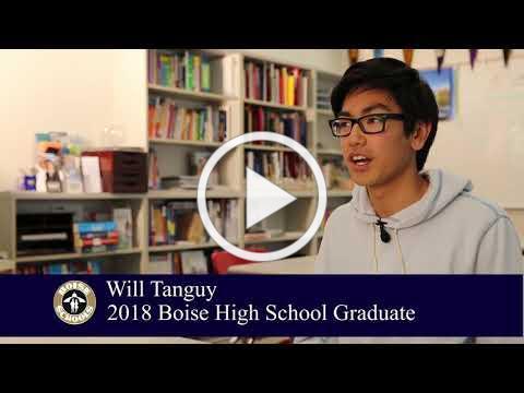 Meet Boise High School 2018 graduate Will Tanguy