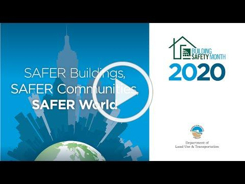 2020 Building Safety Month