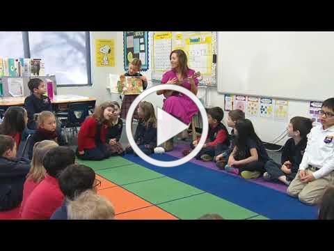 CBS4 features Ms. Kapner & Her 1st Grade Class