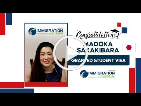 IANZ Client Success Stories | Madoka Sakakibara | Granted Student Visa