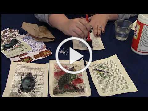 Recycled Book Club: Image Transfers for Journaling