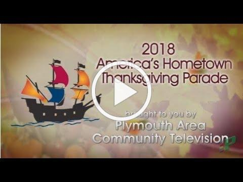 America's Hometown Thanksgiving Parade 2018 in Plymouth