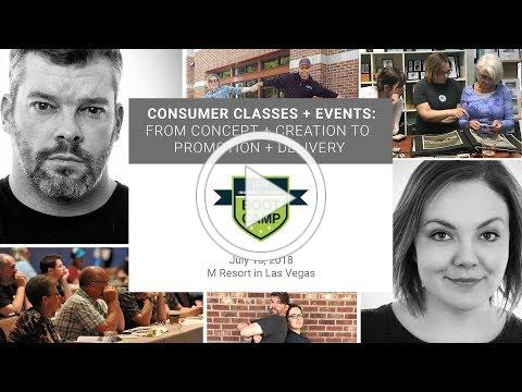 Consumer Classes + Events with Brooke + Jon