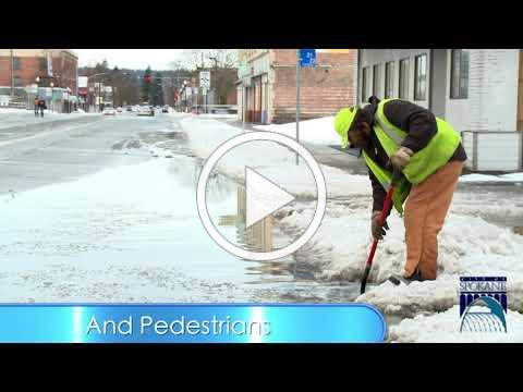 Help Clear Storm Drains To Keep Commutes Flowing
