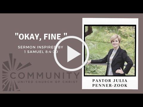 Sermon June 6, 2021