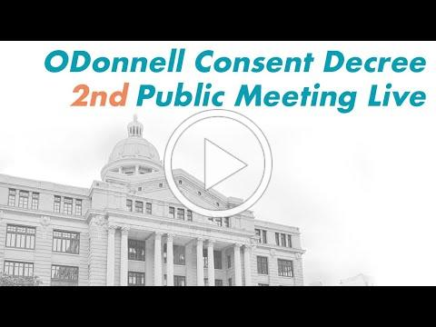 ODonnell 2nd Public Meeting