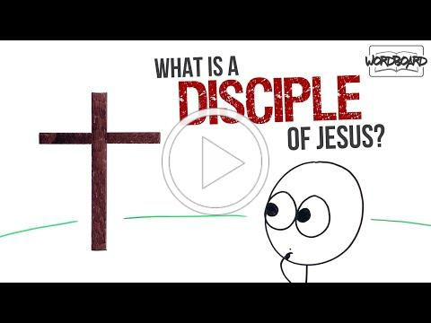 WordBoard.org - What Is a Disciple of Jesus? (Mark 8:34)