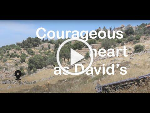 Bible Live: Courageous heart as David's