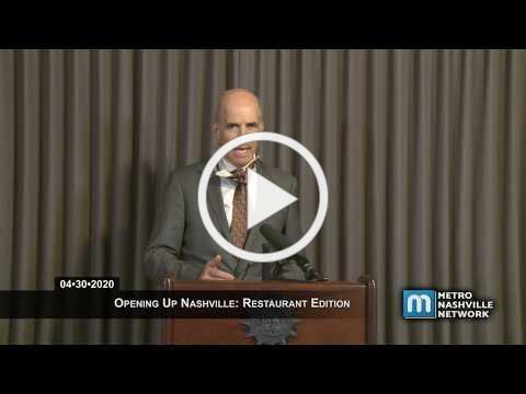 04/30/20 Opening Up Nashville: Restaurants Edition
