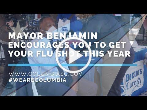 Mayor Benjamin Encourages Everyone to Get a Flu Shot this Year