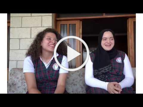 Palestinian students share their dreams for the future