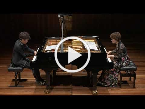 Rachmaninoff Romance for two pianos