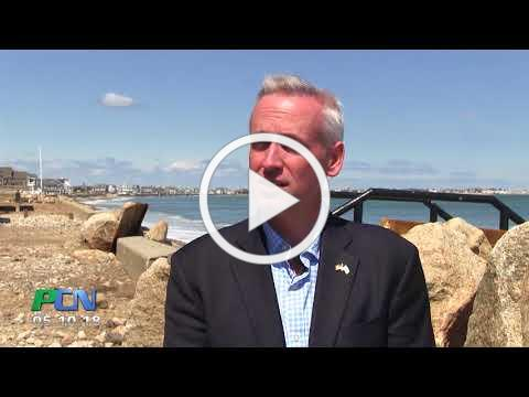 STATE HOUSE REPORT: Sea Walls in Duxbury with Rep Cutler