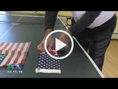 How to dispose of an American Flag appropriately Duxbury American Legion