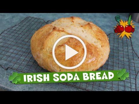 HOW TO MAKE TRADITIONAL IRISH SODA BREAD RECIPE | Happy St. Patrick's Day!!