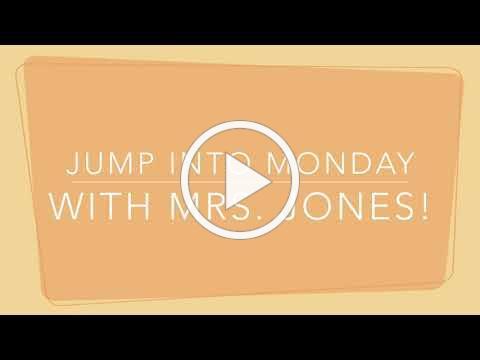 Jump Into Monday with Mrs Jones_8-31-2020