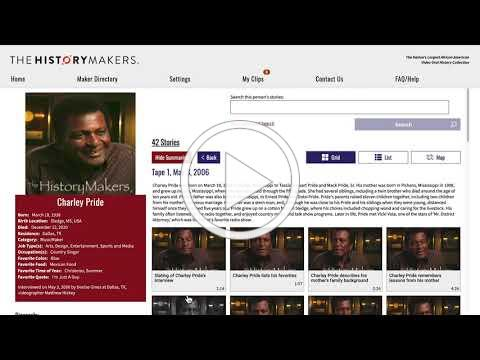 The HistoryMakers Digital Archive: My Clips