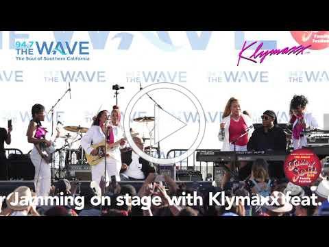 Klymaxx & Stevie Wonder On Stage Together @ Taste Of Soul 2019