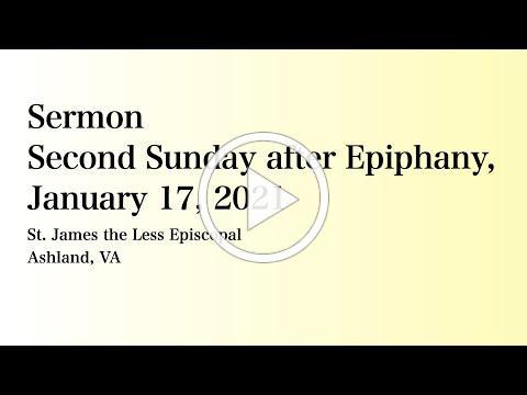 Sermon for 17 January 2021