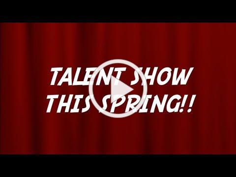 2021 Virtual Talent Show Advertisement