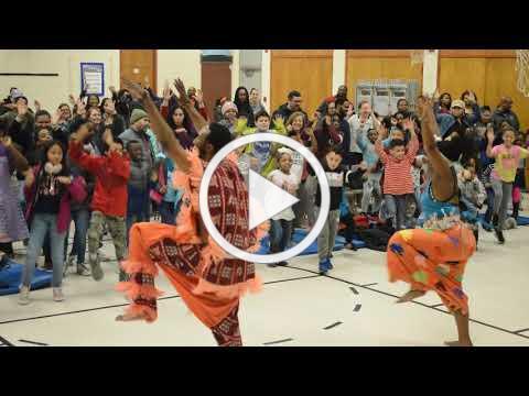Muntu Dance Theatre at the 2019 Cultural Night