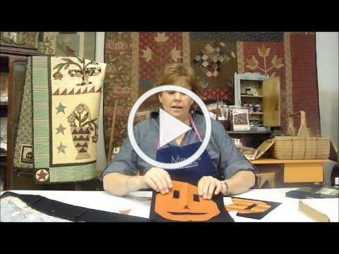 Halloween Quilting Crafts - A spooky Halloween story idea for kids