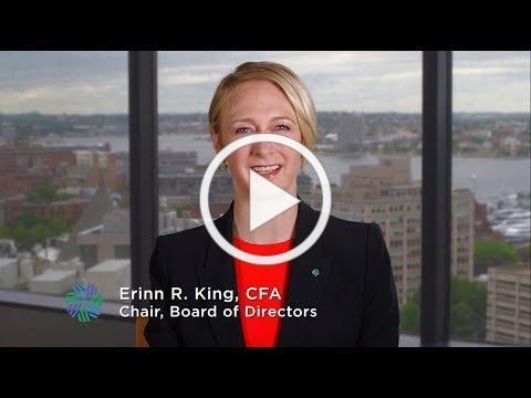CFA Society Boston Chair Erinn R. King's Welcome
