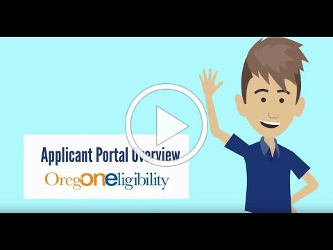 Applicant Portal Overview