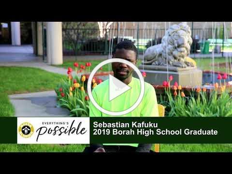 Boise and Beyond - 2019 Graduate Profiles - Sebastian Kafuku