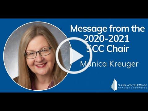Message from Monica Kreuger: 2020-2021 Chair of the SCC