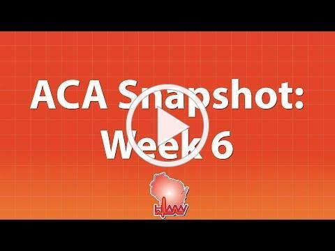 Open Enrollment Snapshot - Week 6