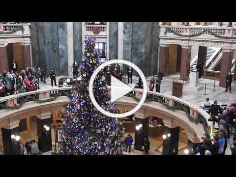 2018 Capitol Christmas Tree lighting