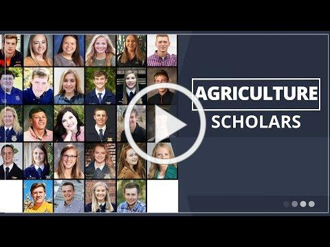2019 Agriculture Scholarship Recognition Luncheon