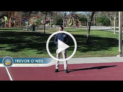City of Anaheim Council Member Trevor O'Neil's 2020 Highlights