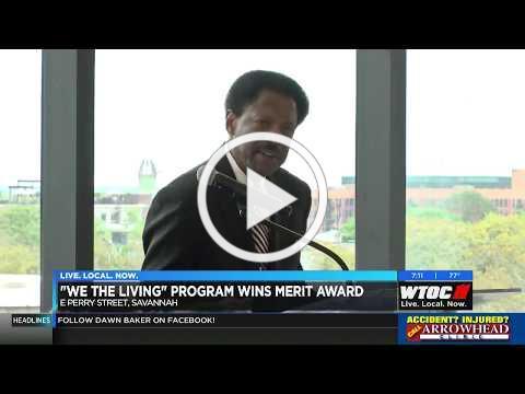 Hospice Savannah We the Living Award